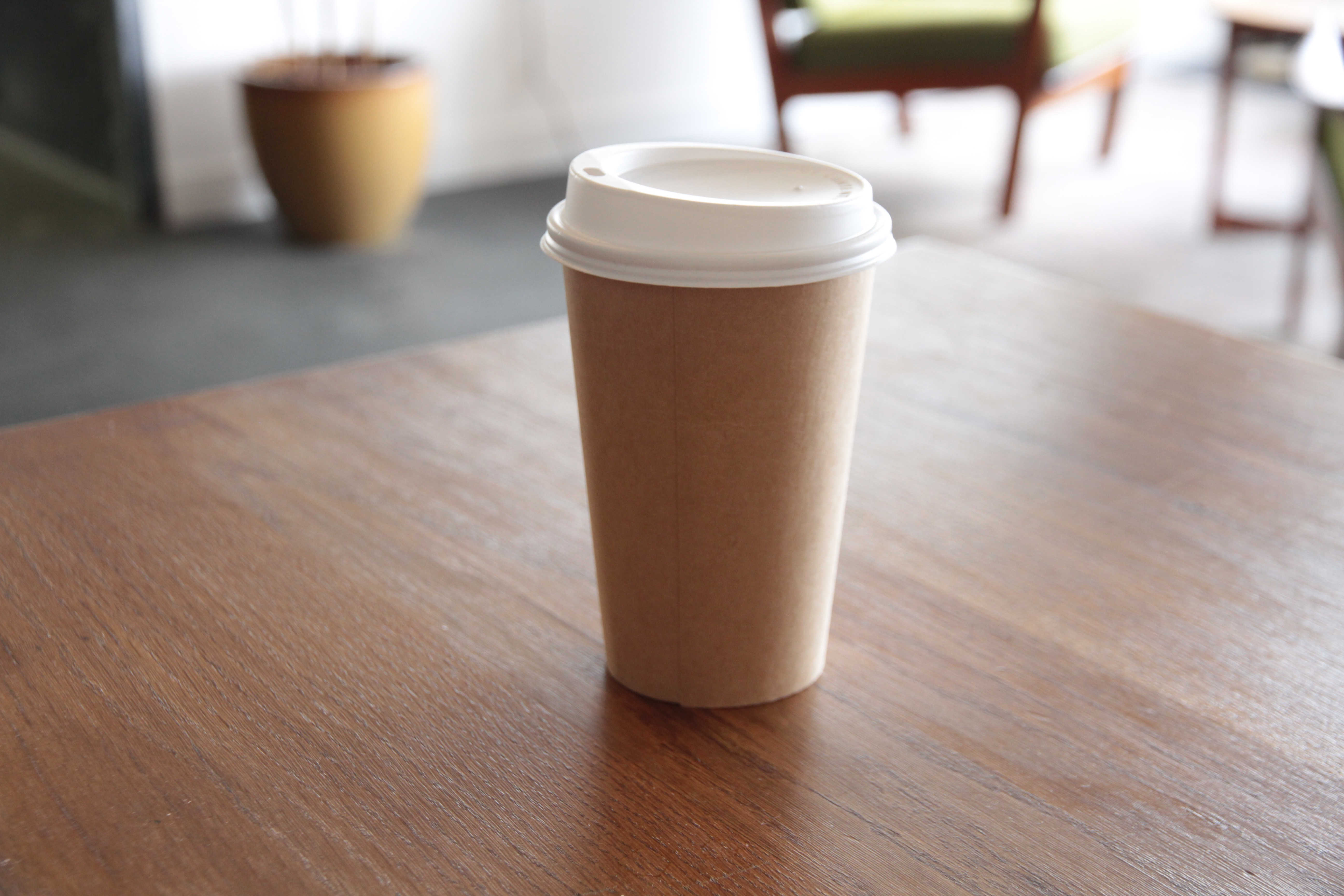 World First Bioplastic Solution To Growing Coffee Cup