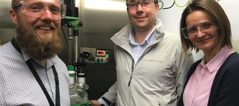 New polymerisation reactor system strengthens scale-up of novel bioplastic polymers