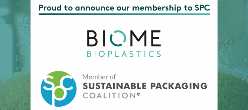 Biome joins the Sustainable Packaging Coalition